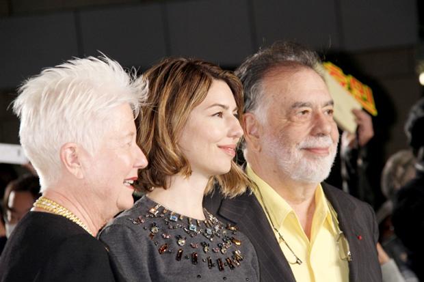 ソフィア・コッポラとフランシス・フォード・コッポラ、父娘でグリーンカーペット登場
