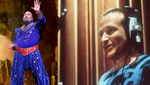 ミュージカル版「アラジン」でロビン・ウィリアムズ追悼の歌(動画あり)。ディズニーは各チャンネル一斉に『アラジン』を放映