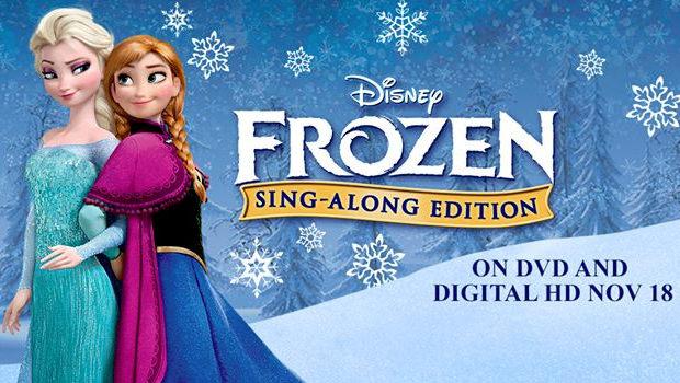 『アナと雪の女王』、海外では11月に「Sing-Along」版DVDの発売が決定!