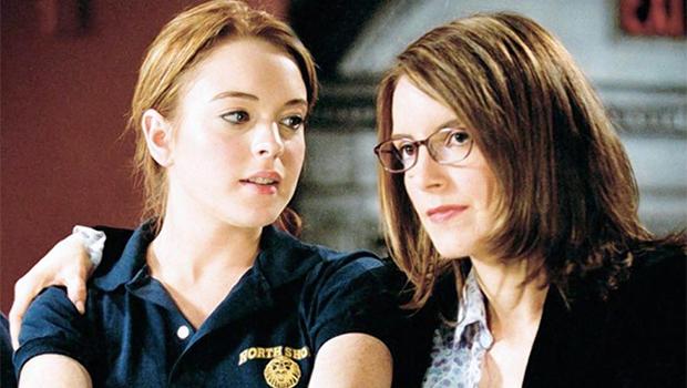 『ミーン・ガールズ』で共演したリンジー・ローハンとティナ・フェイが10年ぶりの2ショット!
