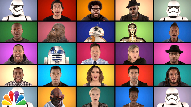 メインキャストみんながアカペラで歌う「スター・ウォーズ」サントラ・メドレー