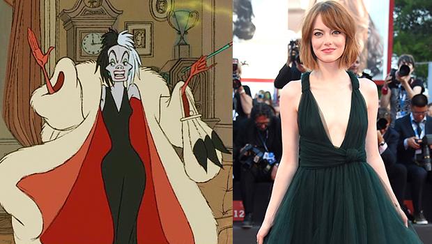 『101匹わんちゃん』悪役、クルエラ・ド・ヴィルを描く実写映画企画、エマ・ストーンがクルエラ役に