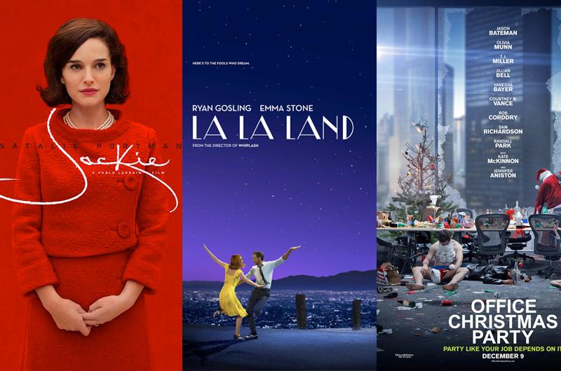 週末全米興行、『ラ・ラ・ランド』拡大公開、意外と強い『Office Christmas Party』
