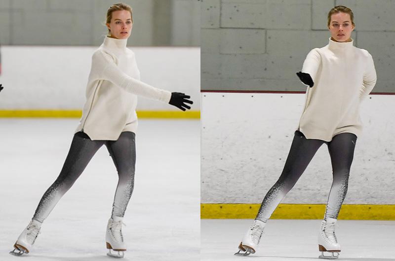 マーゴット・ロビー、トーニャ・ハーディングに。『I, Tonya』でのスケート練習風景の映像