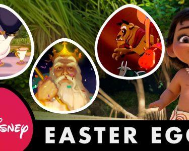 『モアナと伝説の海』も含めたディズニー・アニメのイースター・エッグの歴史をまとめた映像