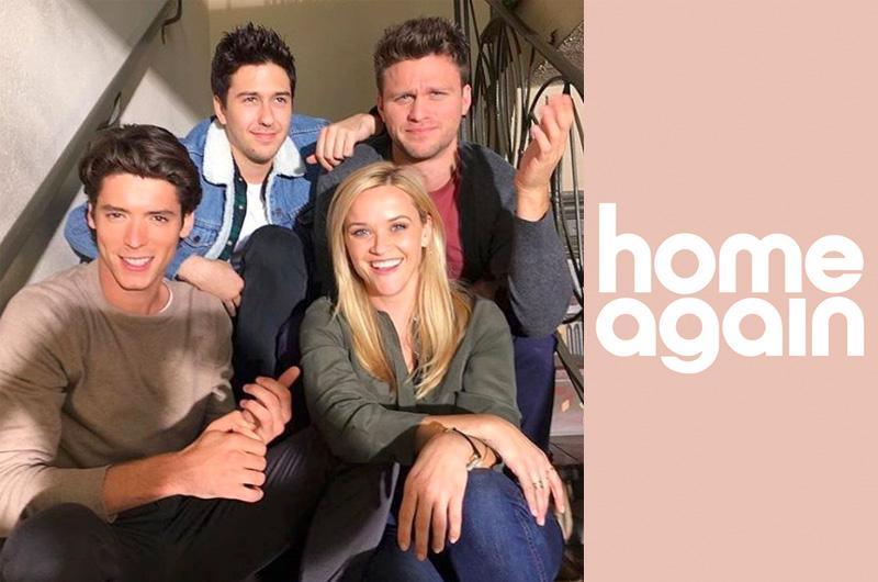 リース・ウィザースプーンが若者たちと同居するバツイチママを演じる『Home Again』全米公開日決定!
