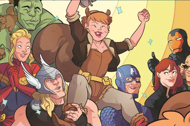 マーベル最強リス娘、スクイレル・ガールが主役の新しいTVシリーズ「New Warriors」