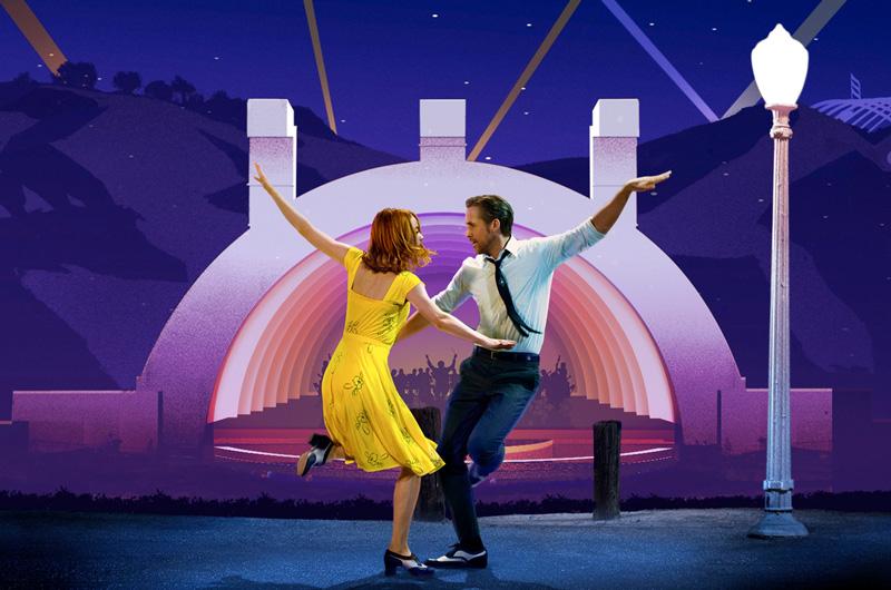 『ラ・ラ・ランド』コンサートツアー「La La Land in Concert: A Live-to-Film Celebration」ハリウッド・ボウル映像