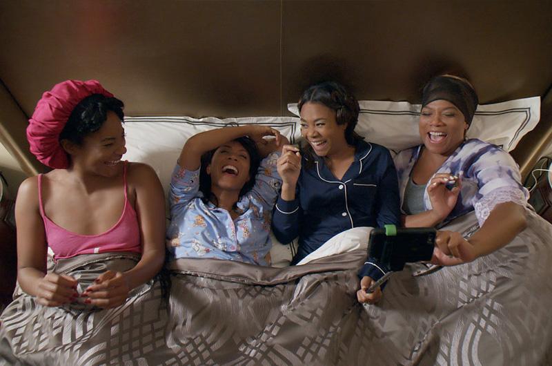 黒人女性4人組の友情を描く『Girls Trip』R指定コメディ映画では久々の大ヒットスタートに