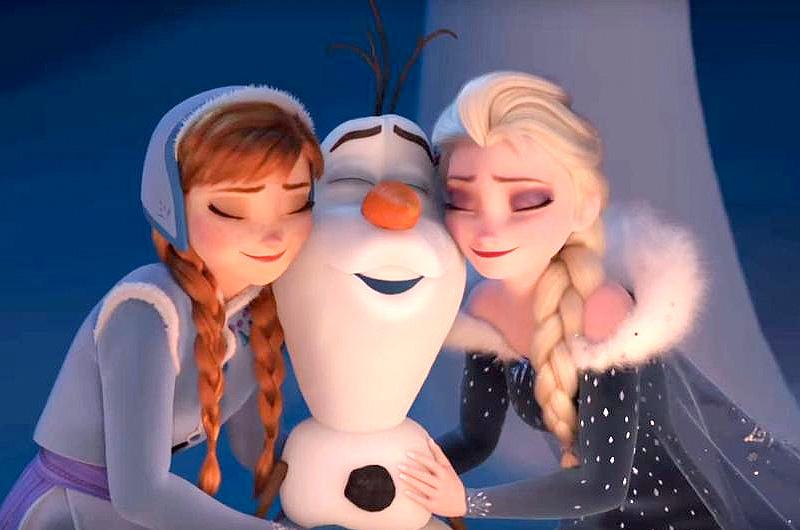 幸せアナと雪の女王