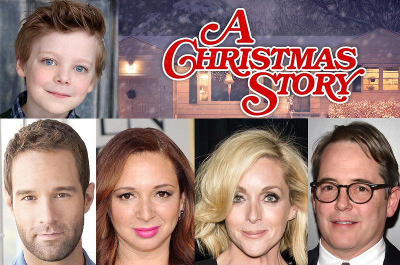 米FOX生放送ミュージカル特番『A Christmas Story Live!』の主要キャスト発表