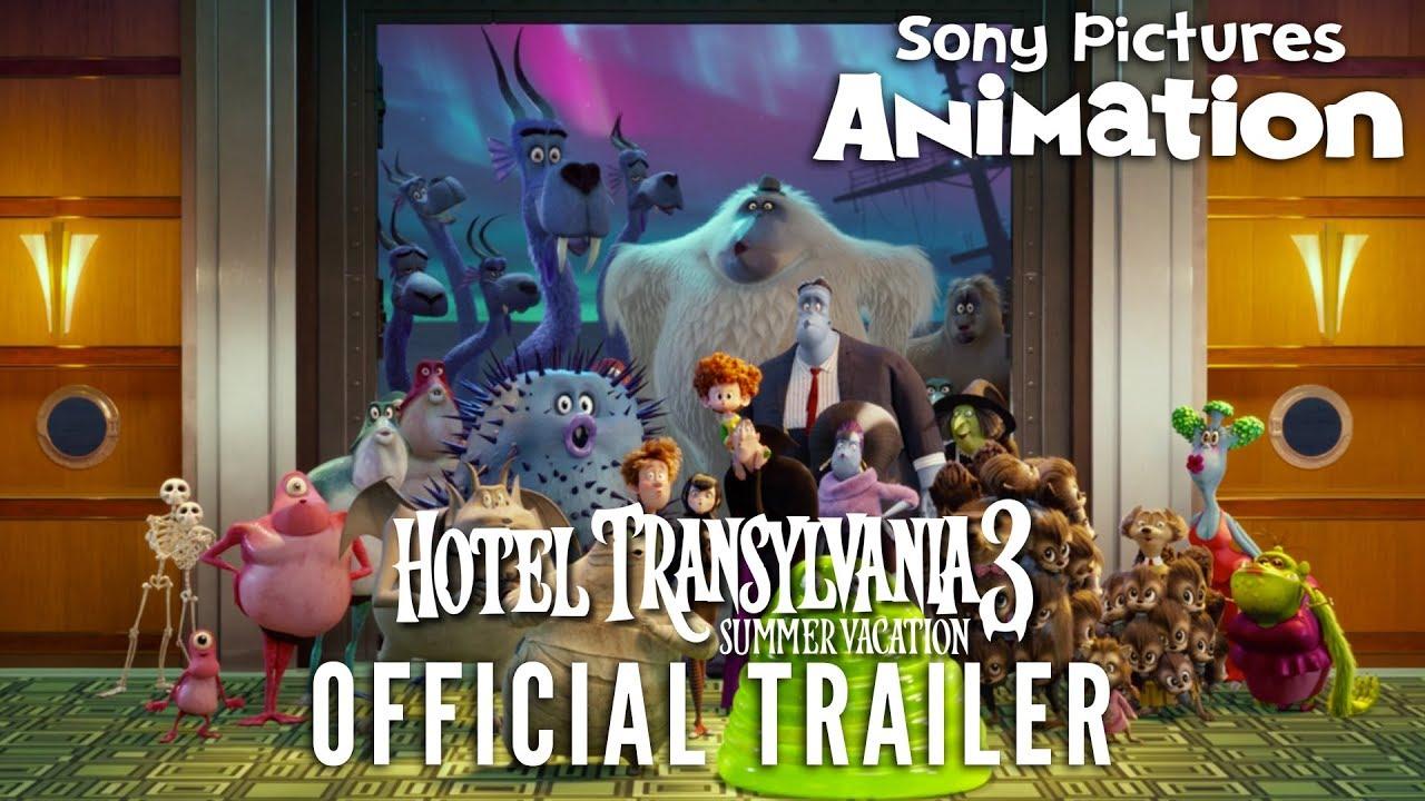 『モンスター・ホテル』シリーズ第3弾『Hotel Transylvania 3: Summer Vacation』予告編