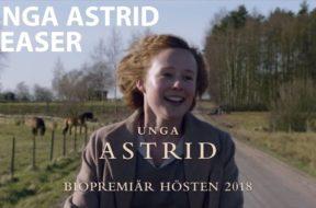 「長靴下のピッピ」原作者の若い頃を描くスウェーデン映画『Unga Astrid(英題:Becoming Astrid)』特報