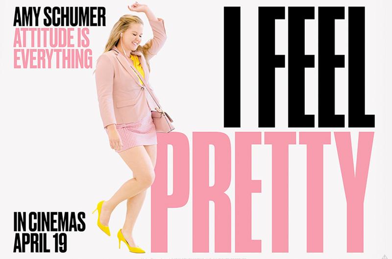 エイミー・シューマー主演キューティー映画『I Feel Pretty』全米公開開始!週末の成績は?!