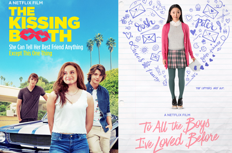 2018年、Netflixで最も見られた上位2作品は青春系キューティー映画!
