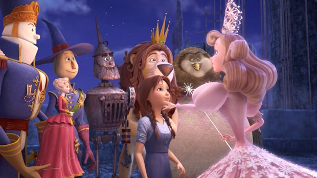 「オズの魔法使い」のミュージカル3DCGアニメ映画2014年公開。ドロシー役はリア・ミシェル