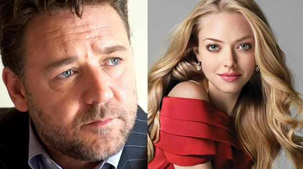 アマンダ・サイアフリッドとラッセル・クロウ、新作に親子役で共演。