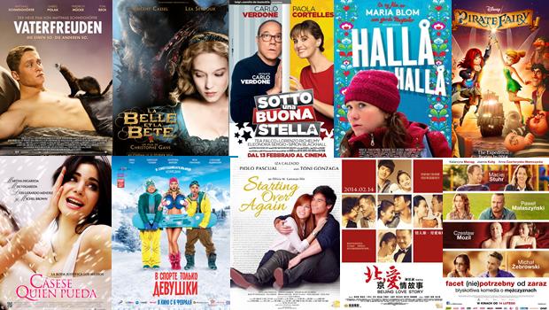 バレンタインデー期間中、世界中の興収成績でキューティー映画の位置を調べてみました