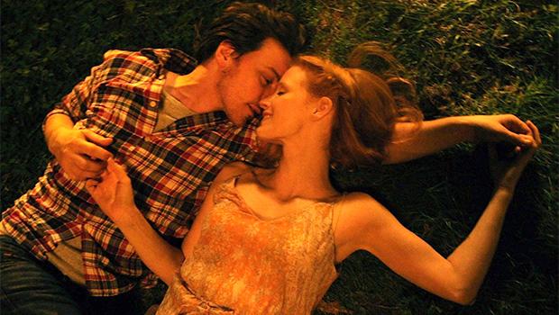 ジェシカ・チャステインとジェームズ・マカヴォイ共演の3部作『The Disappearance Of Eleanor Rigby』予告編