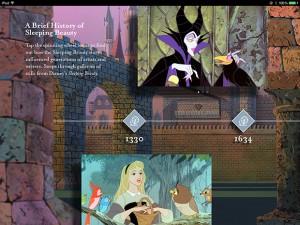 アニメ版「眠れる森の美女」の世界での歴史です。