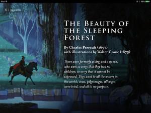 「眠れる森の美女」の原書が掲載!