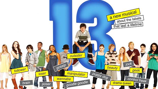 出演者が全員ティーンのブロードウェイ・ミュージカル「13」映画化