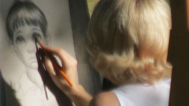 女流画家マーガレット・キーンを描くティム・バートン最新作、エイミー・アダムス主演『Big Eyes』劇中写真公開!