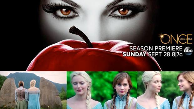 「ワンス・アポン・ア・タイム」に登場する『アナと雪の女王』エルサの劇中写真初公開(オマケ映像付)