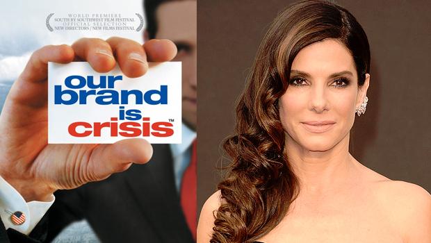 サンドラ・ブロック主演、ドキュメントを元にした新作キューティー映画『Our Brand Is Crisis』が始動