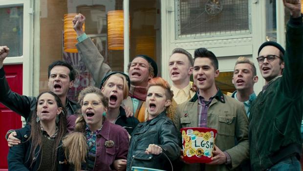 LGBTグループと労働者の交流を描いたイギリス映画『Pride』がアメリカで好スタート!