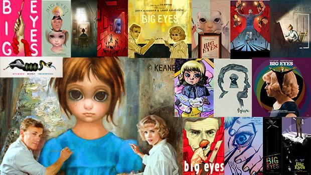 1月23日(金)公開ティム・バートン最新作『ビッグ・アイズ』、コラボ・イラストを公開!