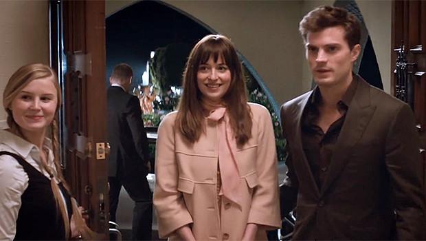 『フィフティ・シェイズ・オブ・グレイ』主役2人がゴールデン・グローブに登場、新予告編公開