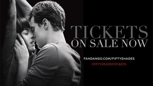 『フィフティ・シェイズ・オブ・グレイ』米チケット販売サイトでの前売り券がR指定映画としては史上1位に!