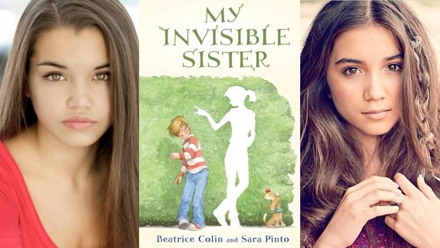 児童書「My Invisible Sister」がディズニー・チャンネルのスター共演でTV映画化