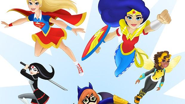 DCコミック、トゥイーンズ向けに「DCスーパーヒーローガールズ」を展開