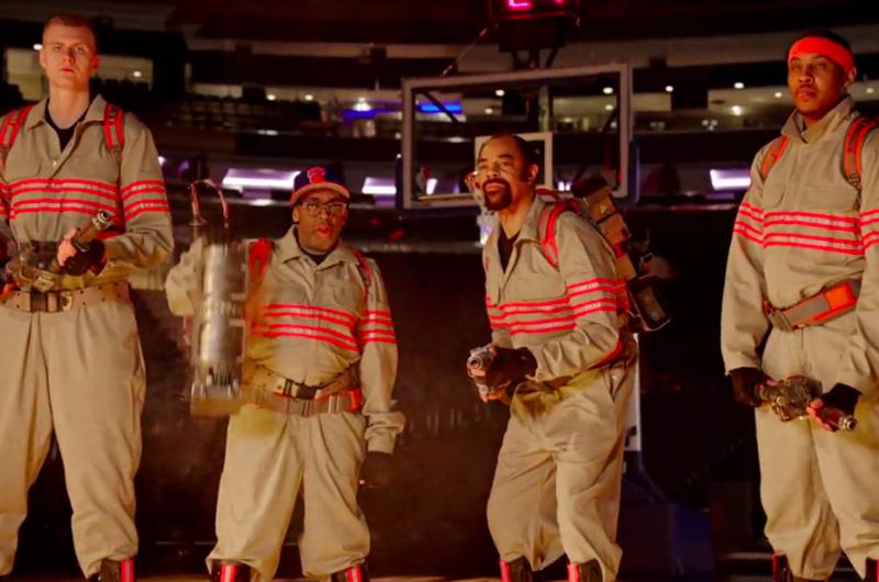 『ゴーストバスターズ』CMにNBA人気選手やスパイク・リーが登場