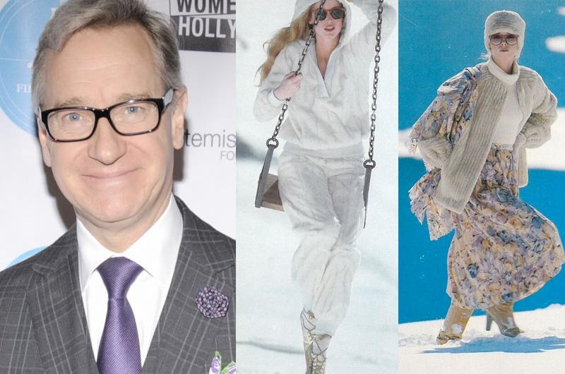 大雪で幽閉されたモデルたちが即席ファッションショーを行った実話の映画化にポール・フィグ参加