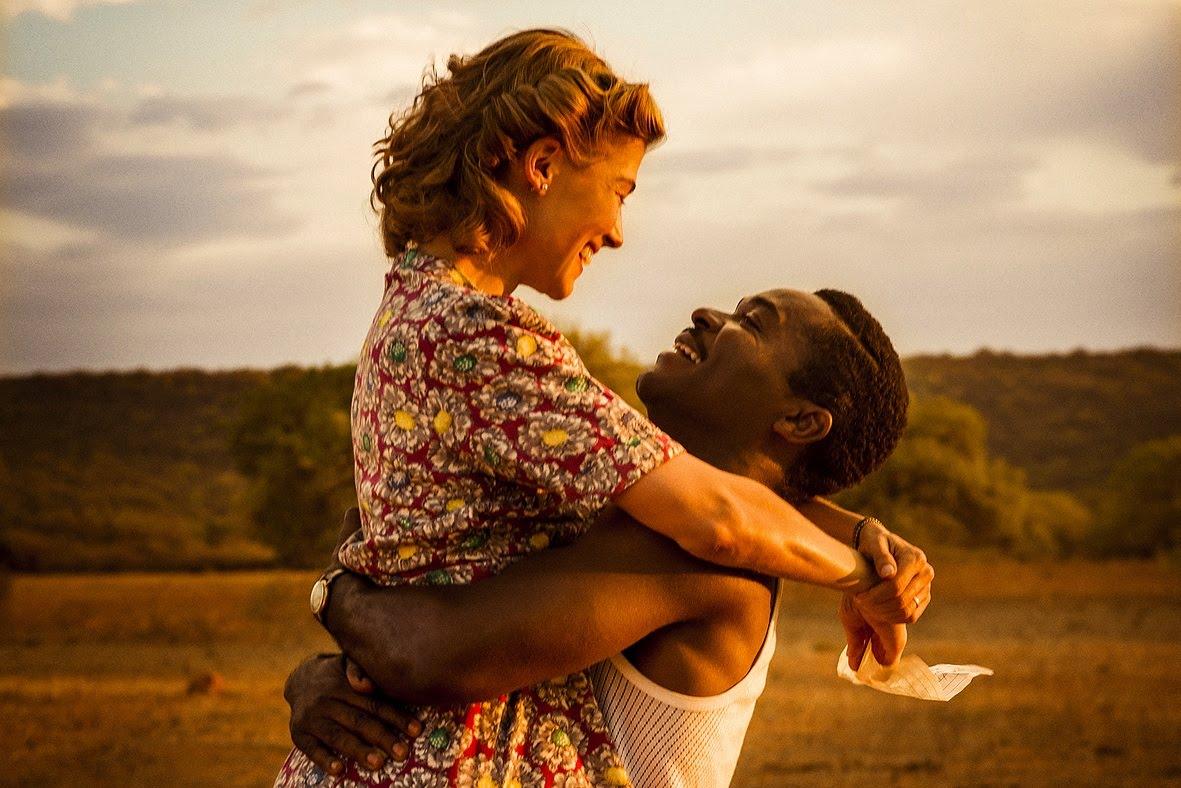 アフリカ人王子とイギリス人銀行員の恋を描く『A United Kingdom』予告編
