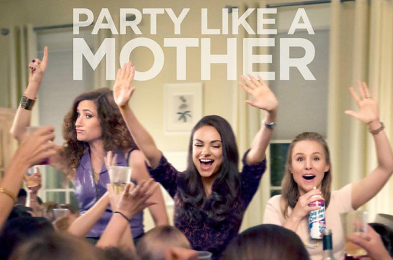 全米週末興行成績で『Bad Moms』が好スタート!