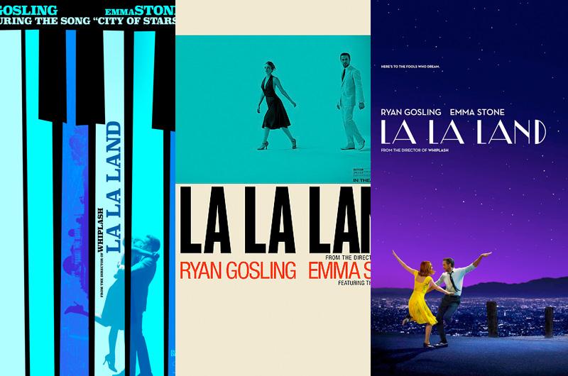 センス抜群の『La La Land』最新ポスターを紹介