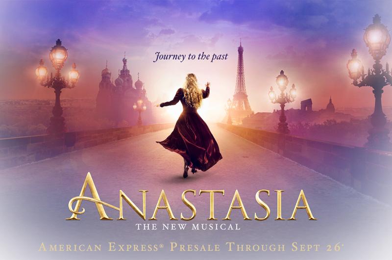 『アナスタシア』ミュージカル版「Anastasia The Musical 」特報&プレビュー映像