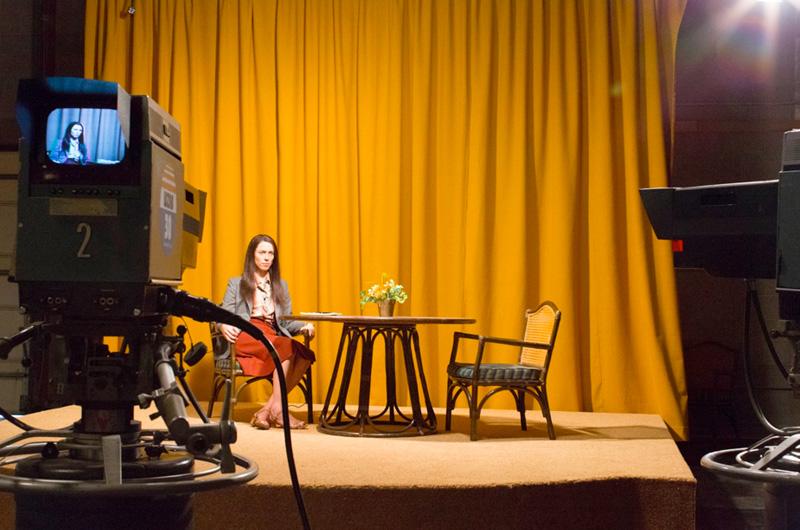 70年代、生放送中に拳銃自殺したアメリカの女性レポーターを描く『Christine』