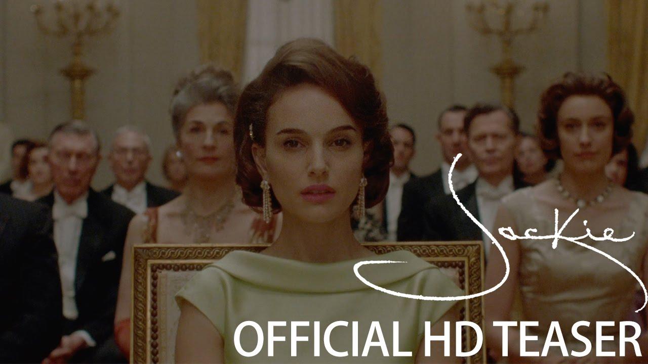 ナタリー・ポートマンがジャクリーン・ケネディを演じる『Jackie』予告編