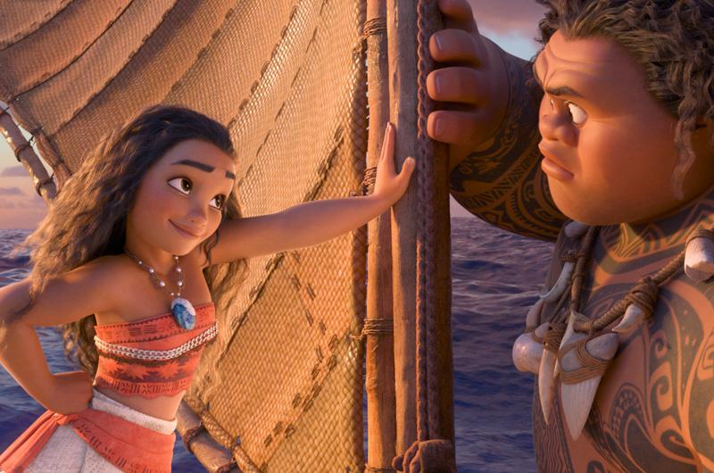 『モアナと伝説の海』全米公開開始。先行興行成績がディズニーアニメ映画では過去最高を記録