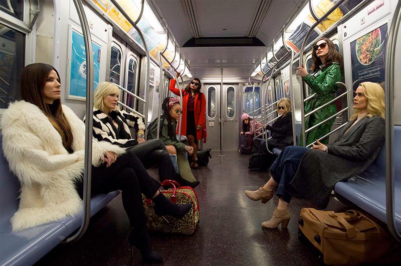 『オーシャンズ8』全員集合の初公式写真公開