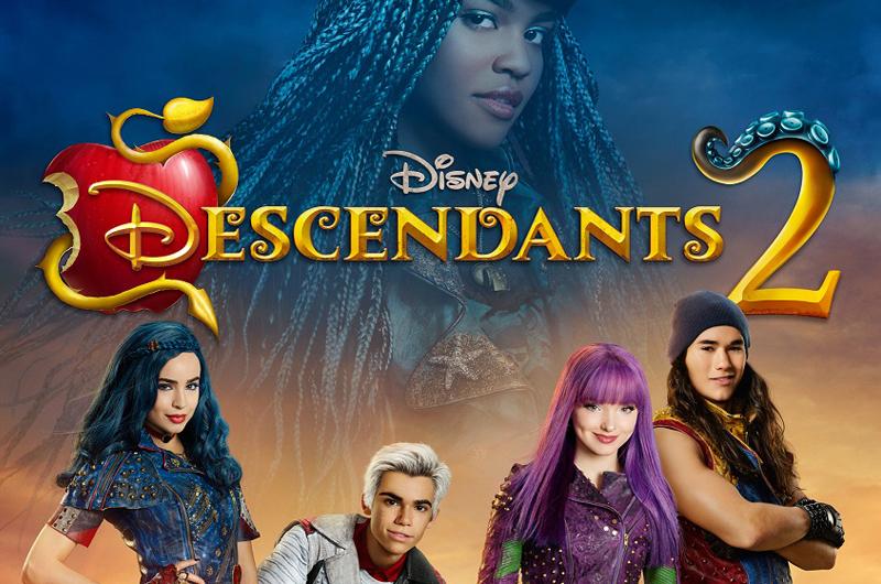 『ディセンダント2』全米放送日決定!&史上初、米ディズニー主要5放送局で同時放送