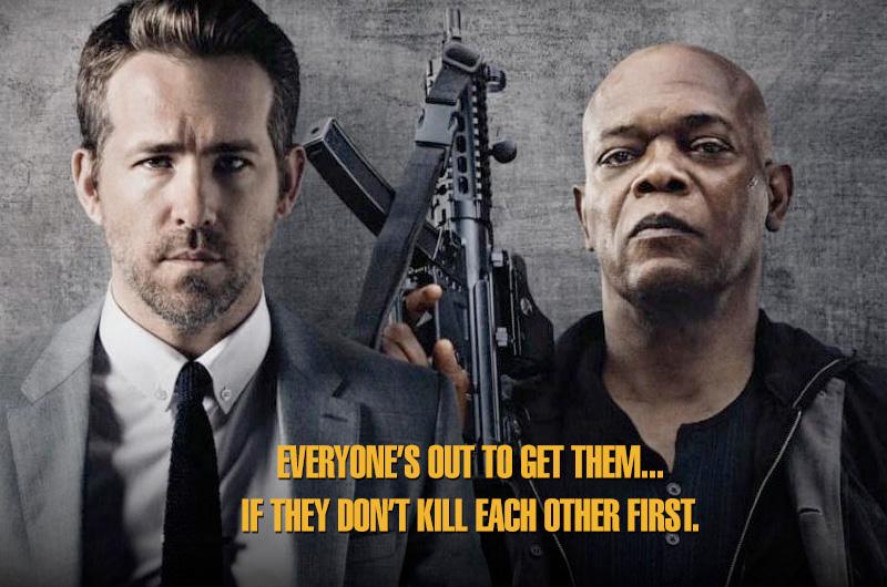 『The Hitman's Bodyguard』公式ポスターが『ボディガード』をパロディ
