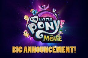 「マイリトルポニー」初の劇場版『My Little Pony:The Movie』特報