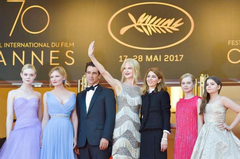 第70回カンヌ映画祭、『The Beguiled』ソフィア・コッポラ監督賞、ニコール・キッドマン記念名誉賞受賞