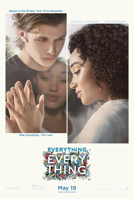 アマンドラ・ステンバーグ主演、外に出れない女の子の夢と恋愛を描く『Everything, Everything』予告編第2弾&ポスター